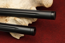 KIDD .22LR Black Fluted Bull Barrel